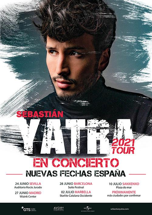 LA GIRA DE SEBASTIAN YATRA TOUR2020 SE APLAZA A 2021 1