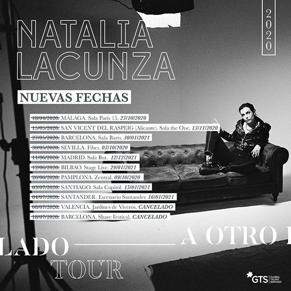 "Nuevas fechas de la Gira ""A Otro Lado Tour"" de Natalia Lacunza"